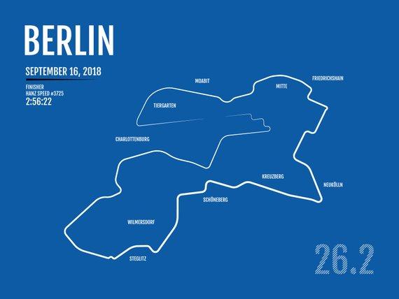 Berlin Marathon Print 8.5 x 11
