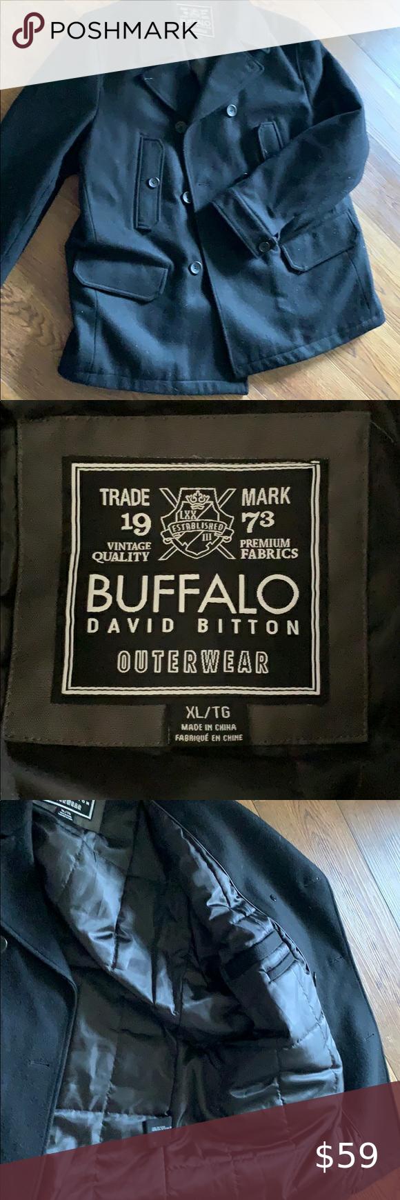 Men S Buffalo David Bitton Coat Buffalo David Bitton Coat Jackets Coats [ 1740 x 580 Pixel ]