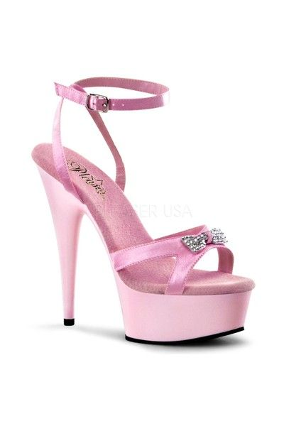 dd2934e2480 Baby Pink Satin Pleated Ruffled Heels Heel Shoes online store sales ...