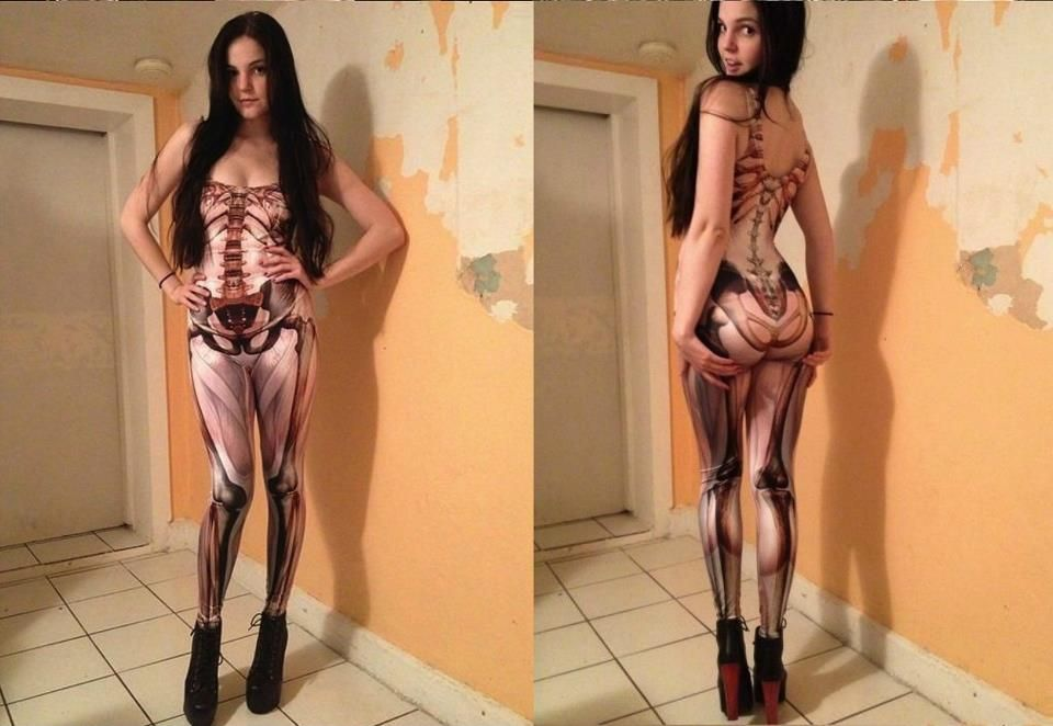 Okay Its An Anatomically Correct Muscle Body Suit From Black Milk