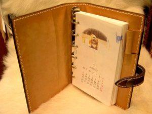 80b9213cfdd0 ALBUQUERQUE [上野アメ横革製品専門ショップ アルバカーキ] / Taka Fine Leather レザーシステム手帳 6穴バインダー