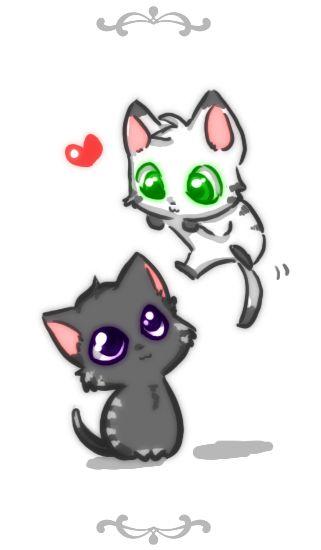 Neko Neko By Zilleniose On Deviantart Anime Kitten Cute Anime Cat Cute Drawings