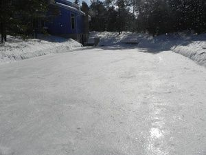 How to Build an Ice Rink in Your Backyard | Outdoor rink ...
