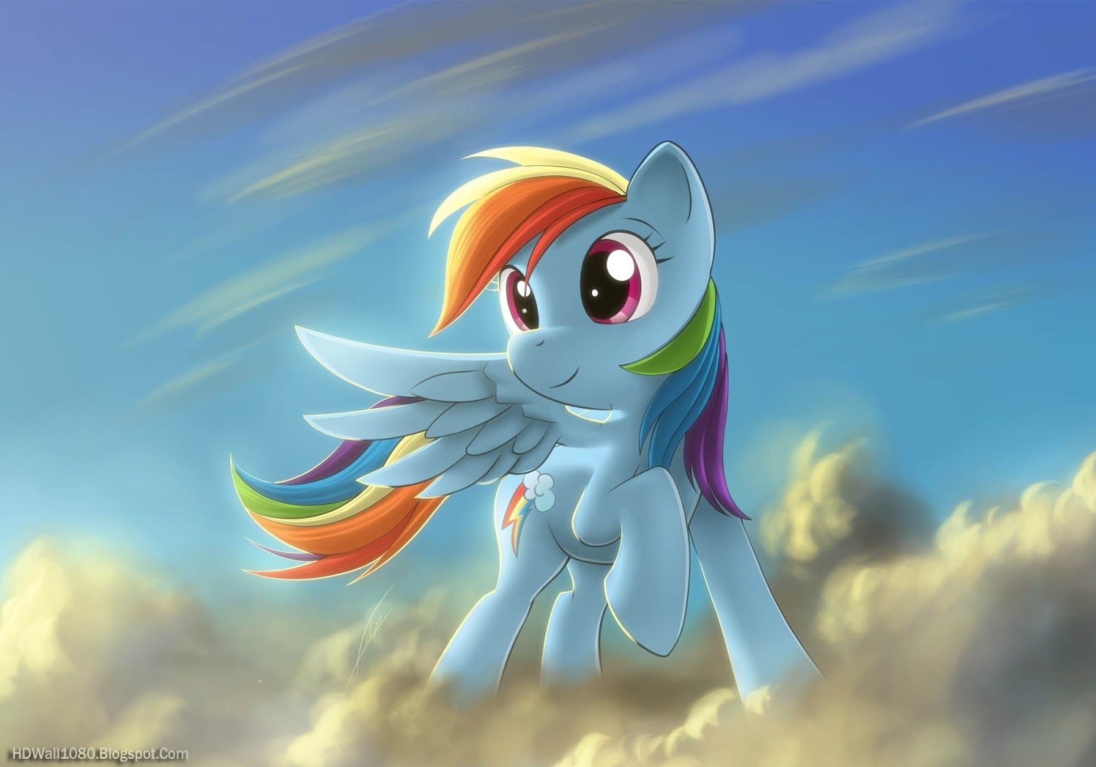 My Little Pony Rainbow Dash Cartoon Wallpaper Animated 1663378