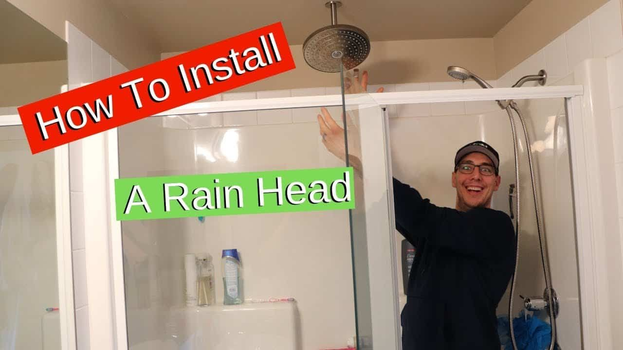 5 Easy Steps To Install Rain Shower Head In 2020 Hansgrohe Shower Head Rain Shower Head Shower Heads