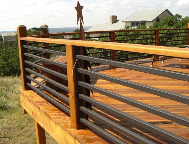 Best Horizontal Steel Deck Railing Deck Railing Design 400 x 300