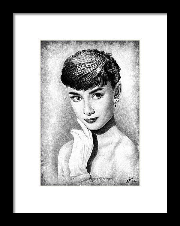 Audrey Hepburn Framed Print by Andrew Read | Audrey hepburn and ...