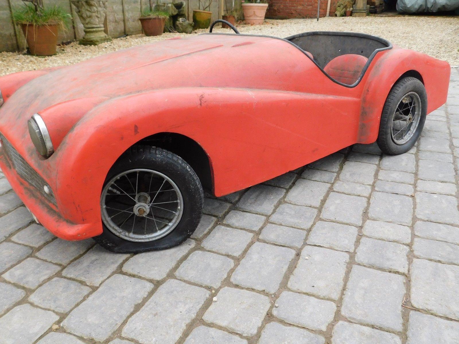 eBay: Barn find ! 1959 TRIUMPH TR3 - PEDAL JUNIOR #classiccars #cars ...