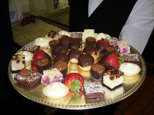Mini wedding sweets