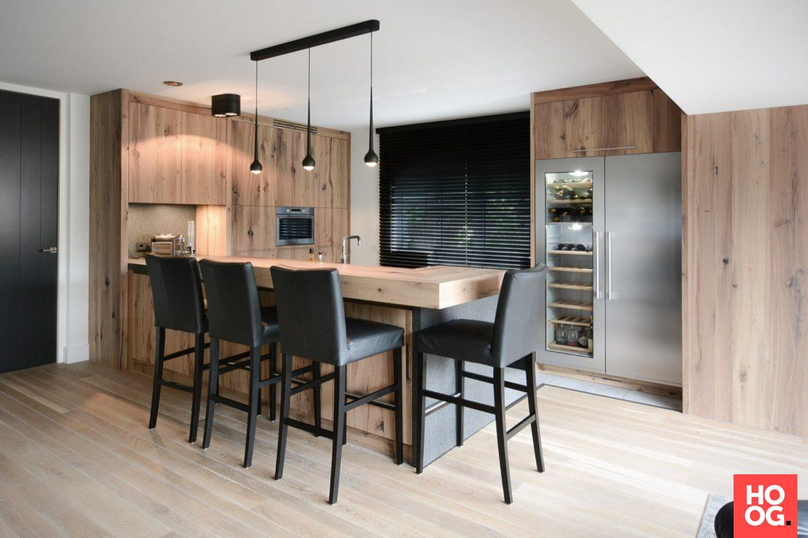 Ecker Interieur - Luxe interieur met hout - Hoog ■ Exclusieve woon- en tuin inspiratie.