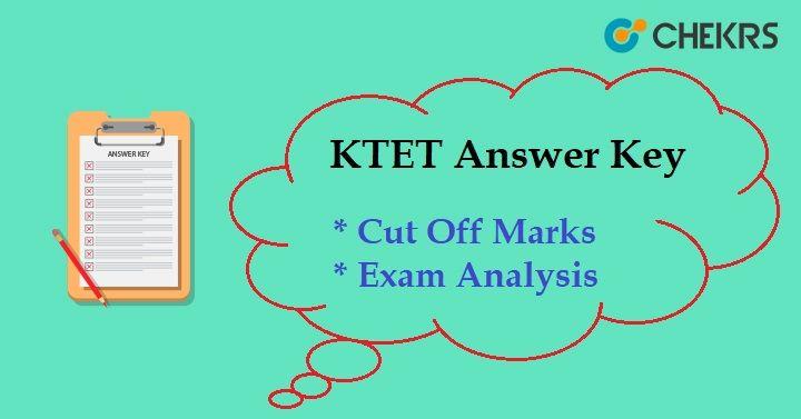 KTET Answer Key 2018 Kerala TET Category 1, 2, 3, 4 Exam