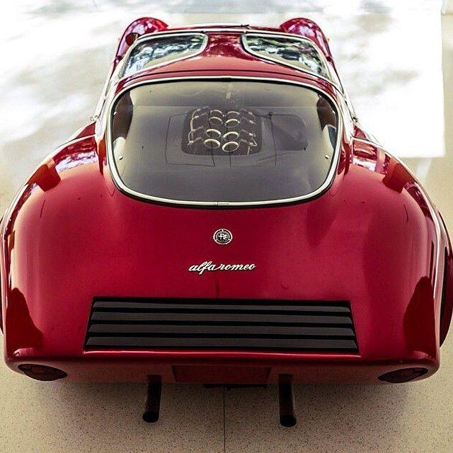 Real Men Drive An Alfa Romeo Tipo 33 Stradale '67