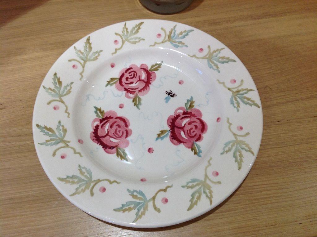 Rose \ Bee Sample 85 inch Plate (Sample Event 240914) Emma - sample event