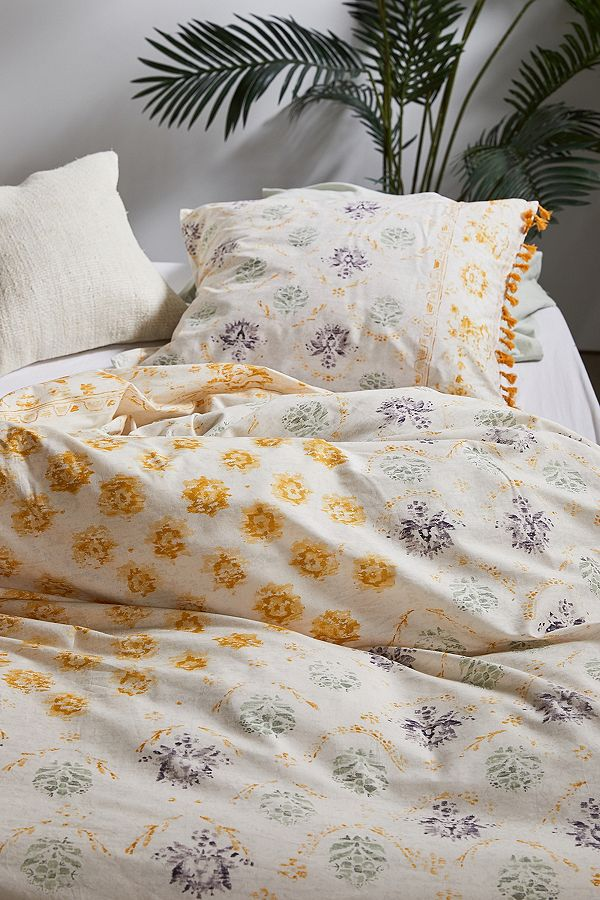 Kimana Yellow Duvet Cover Set Duvet Covers Yellow Duvet Cover Sets Yellow Duvet