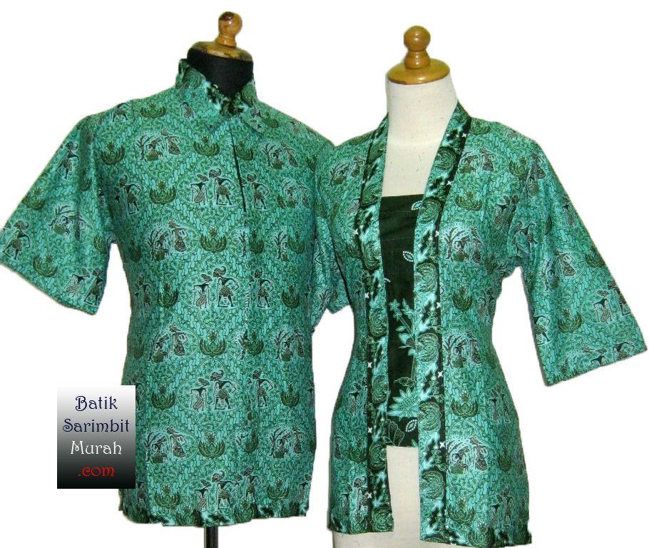 Baju Batik Kantor Hijau  Model Baju  Pinterest  Website and Models
