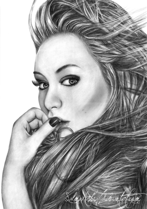 Gallery For Tumblr Drawing Face Portrait Sketches Nature Drawing Face Drawing