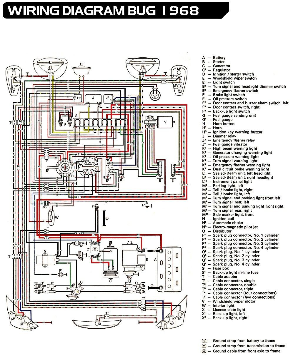 Inspirational Vw Dune Buggy Wiring Diagram Di 2020