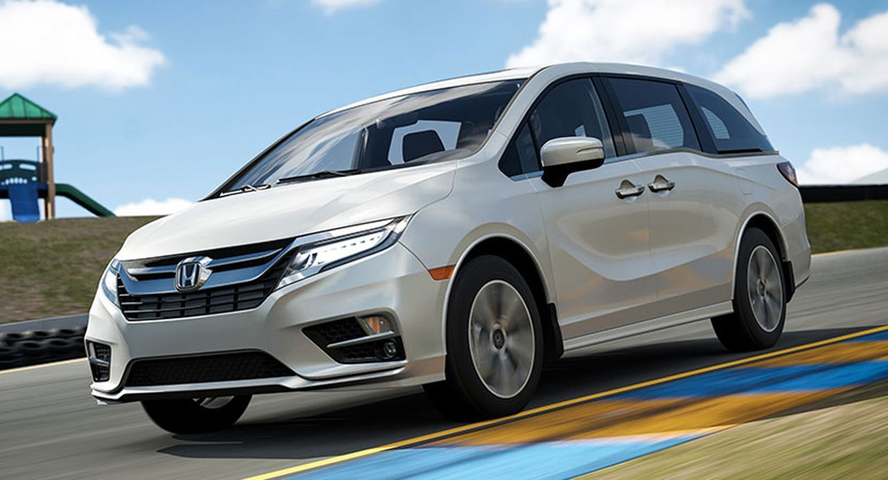 The Latest Forza Update Includes... The Honda Odyssey