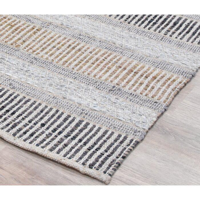 Artiaga Striped Handmade Flatweave Brown Gray Area Rug Reviews Joss Main Brown Area Rugs Brown Rug Layered Rugs