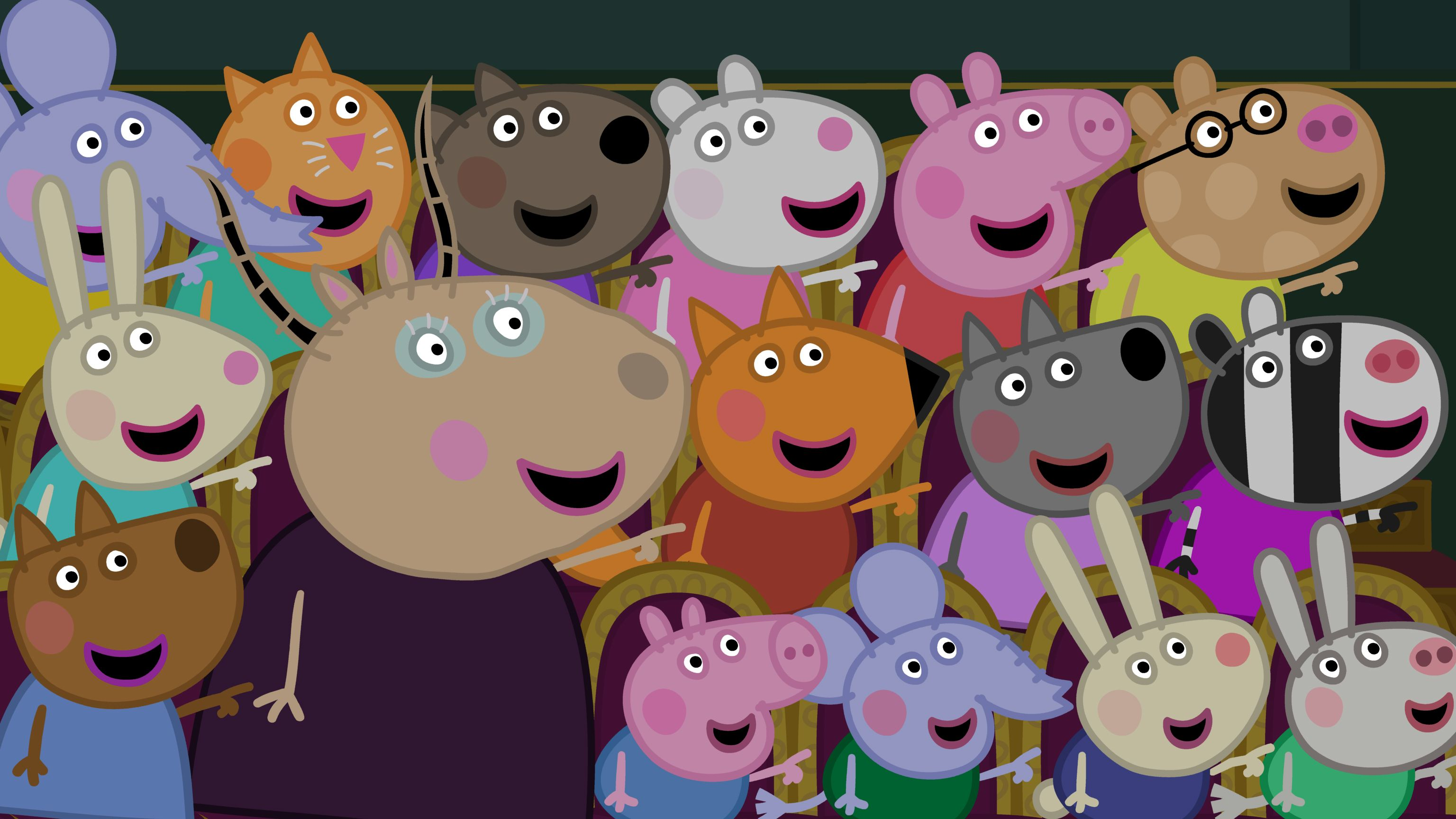 Peppa Pig and friends at the Christmas Show! Peppa Pig (Vol. 17 ...