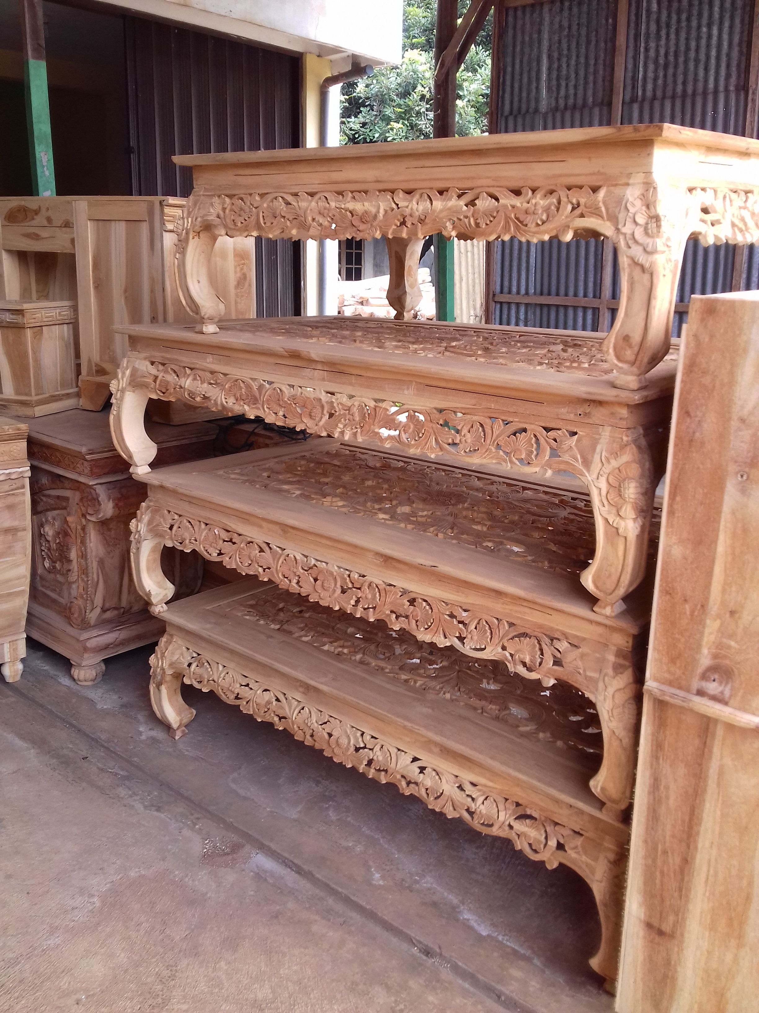Meja Ketapang Ukir Furniture Home Furniture Diy Furniture