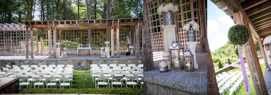 Italian Garden Wedding Queset House North Easton Ma Photographer Michele Conde Photography
