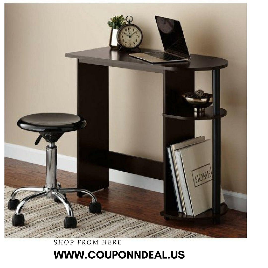 Futuristic Mainstays Computer Desk Decoration