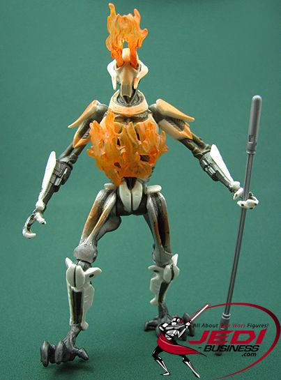 Star Wars Action Figure General Grievous Demise Of The Saga Collection