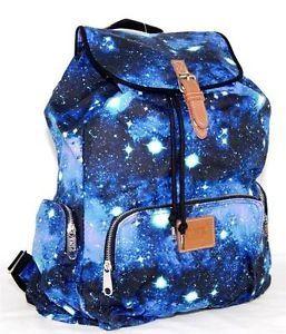 Blue Galaxy Bookbag
