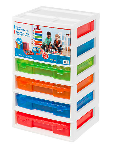 Lego Storage Systems 3 Or 6 Level As Low As 15 Lego Storage Kid Toy Storage Lego Room