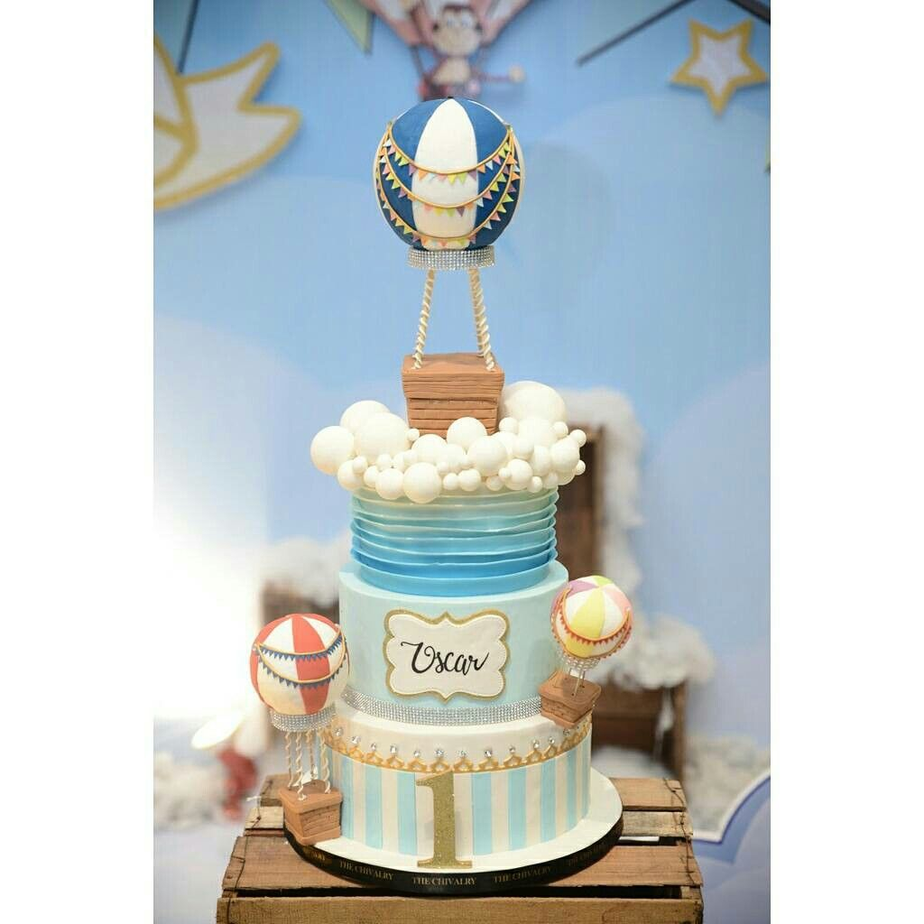 Up Up and Away Cake Birthday Cake Ideas by The Chivalry