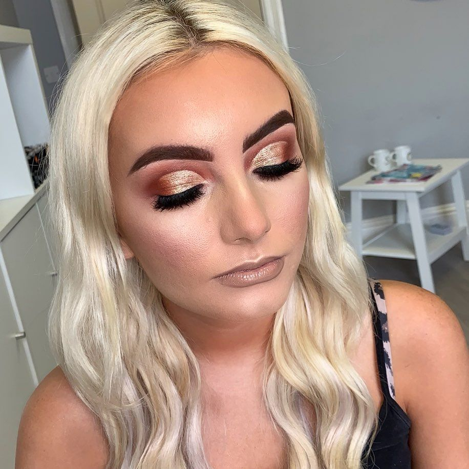 Heavy glam for this girl makeup Uk makeup