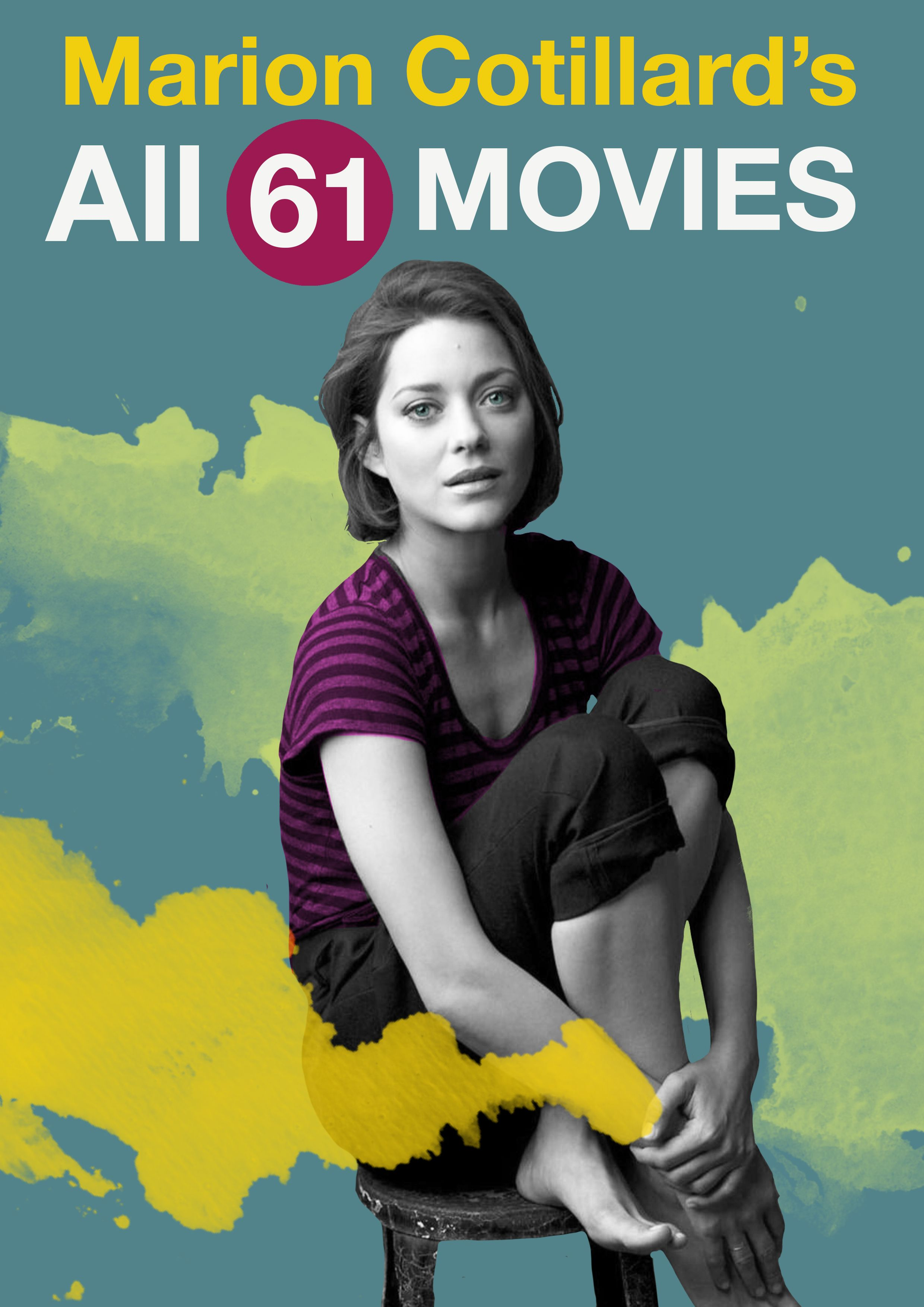 Big Fan Of Marion Cotillard Check The Complete List With All Her