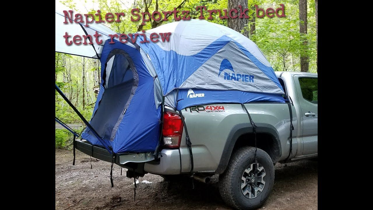 Napier Sportz truck bed tent review on a 2017 long