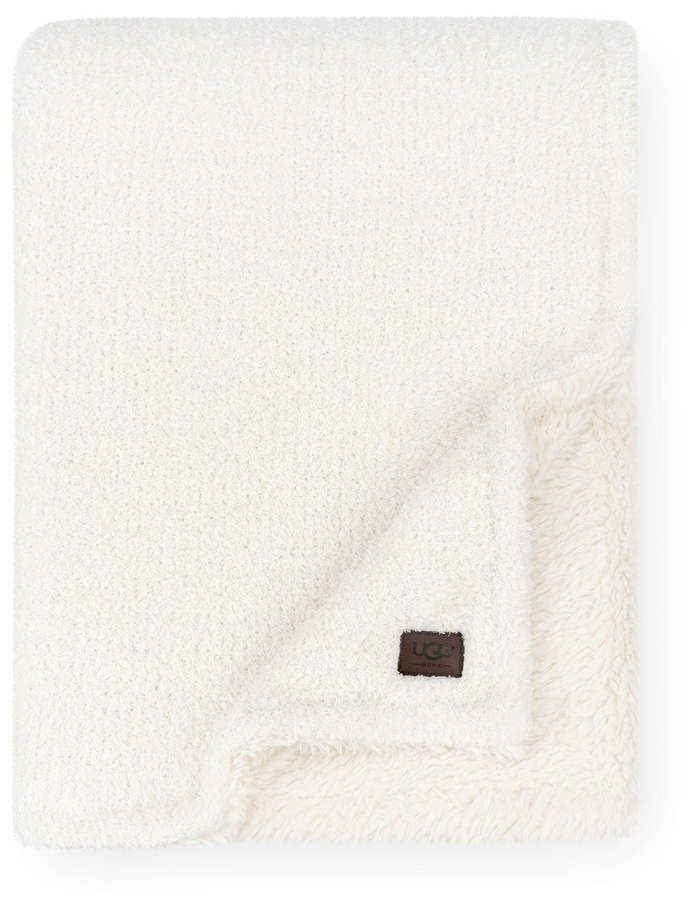 UGG Ana Reversible Cozy Knit Throw