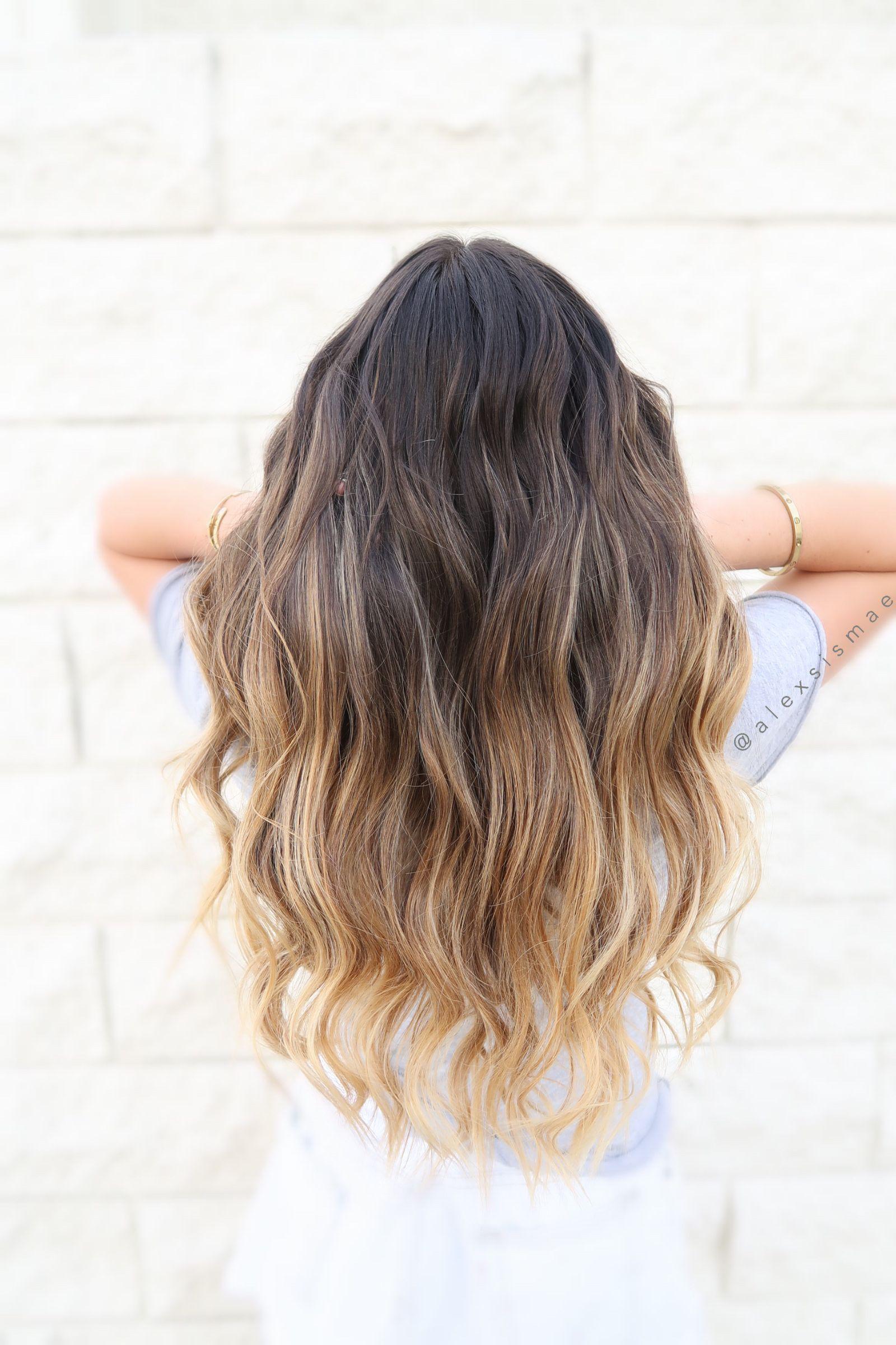 Blonde Balayage @alexsismae | Blonde balayage, Hair, Long hair styles