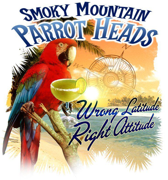 Smoky Mountain Tn Parrot Head Club Logos Knoxville