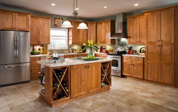 Cinnamon Shaker Kitchen by ProCraft Cabinetry | Kitchen ...