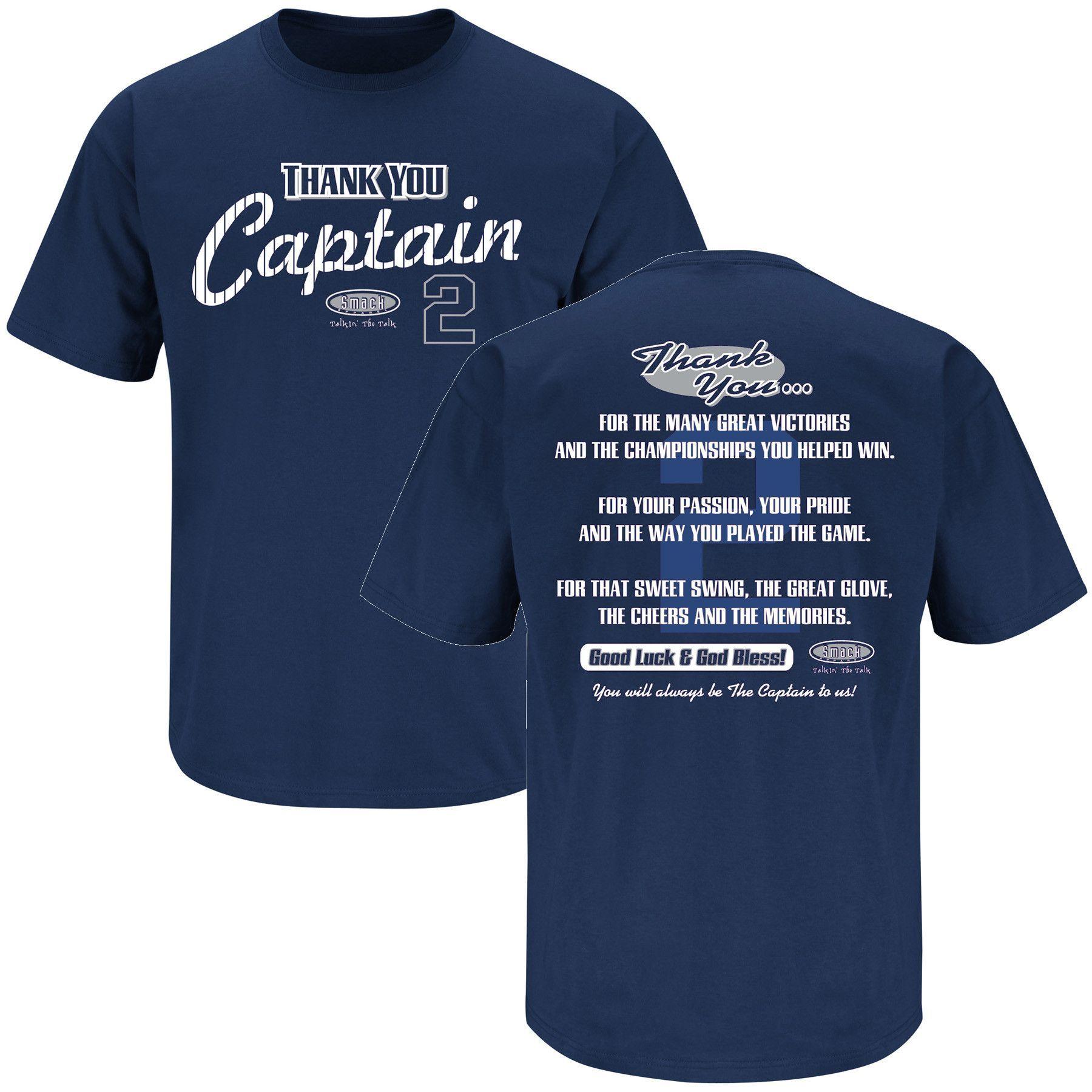 New York Yankees Fans Derek Jeter Tribute T Shirt