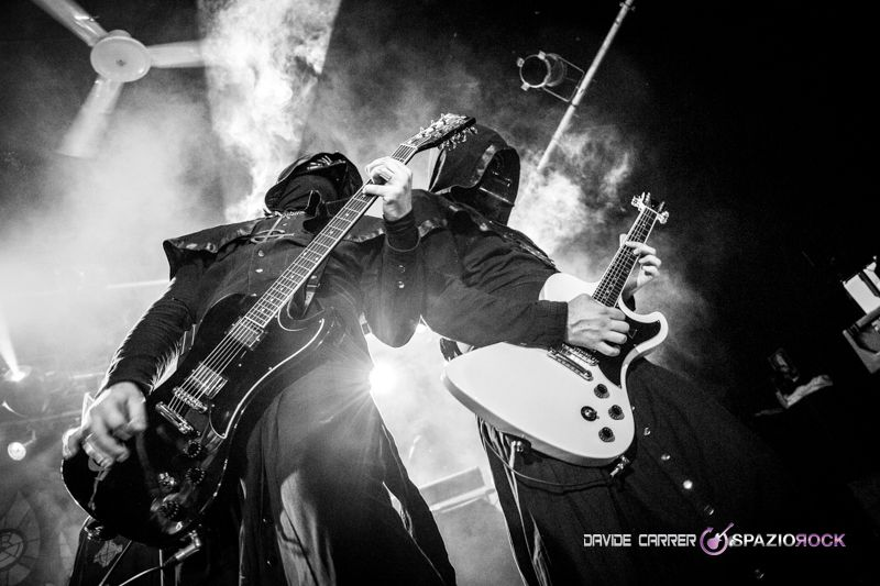 Alpha & Omega / Ghost. SpazioRock | FotoGallery - Ghost - Tour 2014