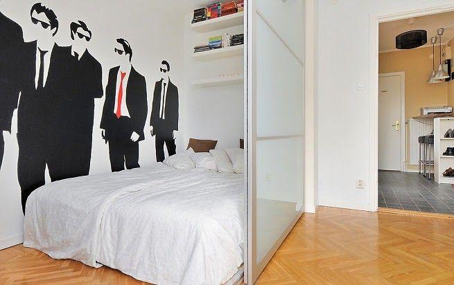 Vinilos decorativos espacios peque os ideas decoraci n pisos peque os pinterest espacio - Decoracion pisos pequenos ikea ...