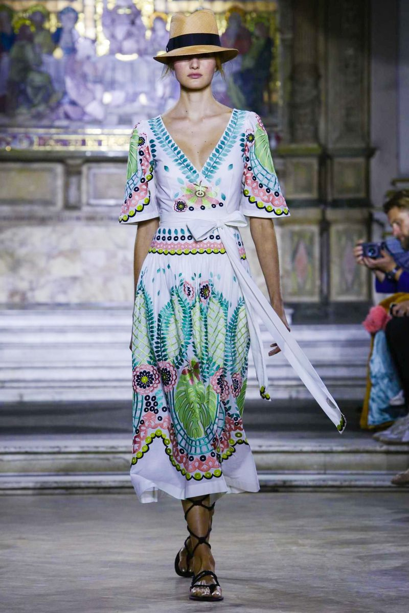 Temperley London Ready To Wear Spring Summer 2016 London - NOWFASHION