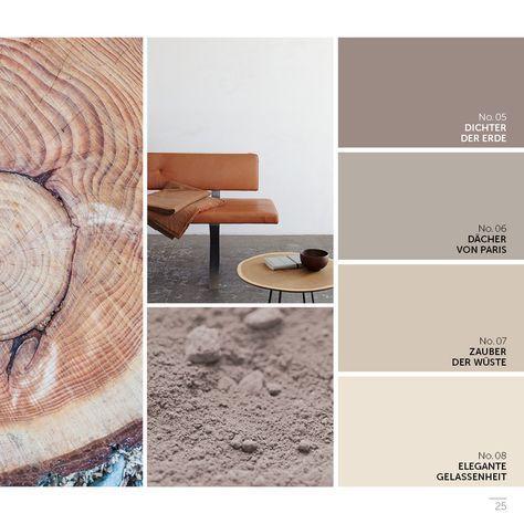 Alpina Fine Colors Color Guide Feine Farben Wandfarbe Wohnzimmer Zimmer Farben