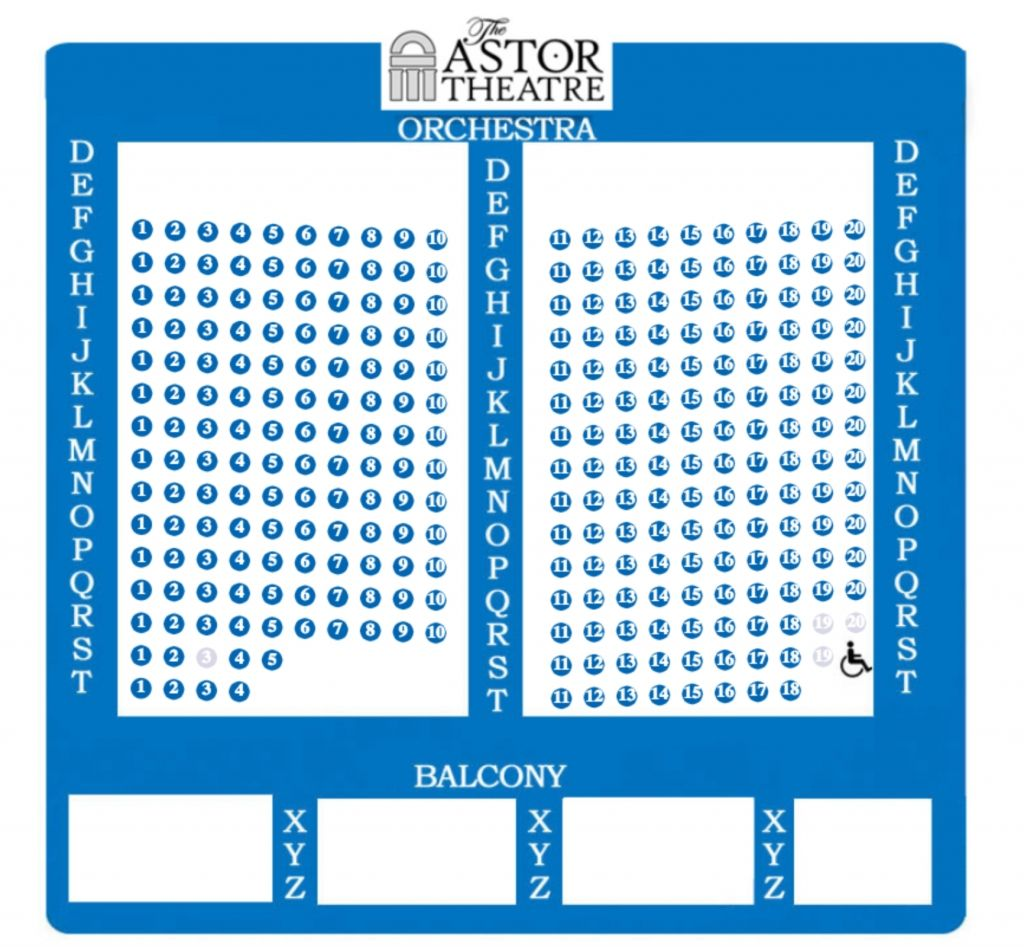 Astor Place Theatre Seating Chart
