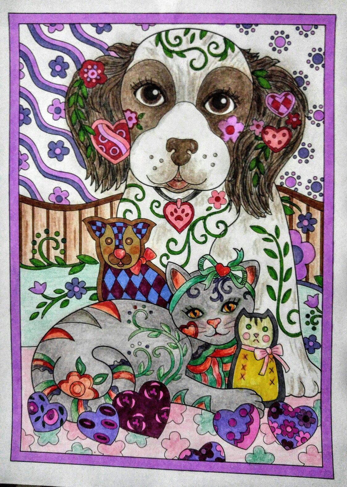 Pin de Zee CeeCee en Marjorie Sarnat Coloring Pages | Pinterest ...