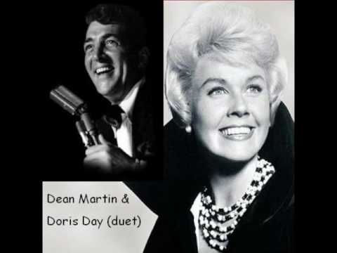 Weihnachtslieder Dean Martin.Dean Martin And Doris Day Singing Baby It S Cold Outside Makes