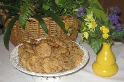 Receta Galletas de crema de cacahuete y pepitas de chocolate, para - TerePetitchef