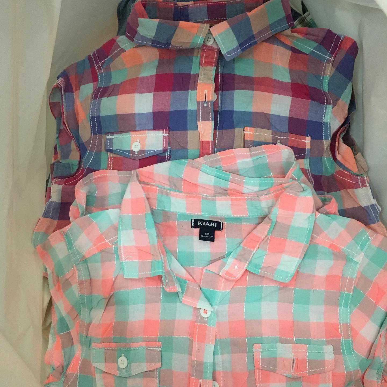 اكياس 10 كيلو ملابس اطفال باله كريمة لطلب اوردر 01091922588 ملابس ملابس ملابس الصيف تسوق تسوق م Women S Plaid Shirt Womens Plaid Fashion