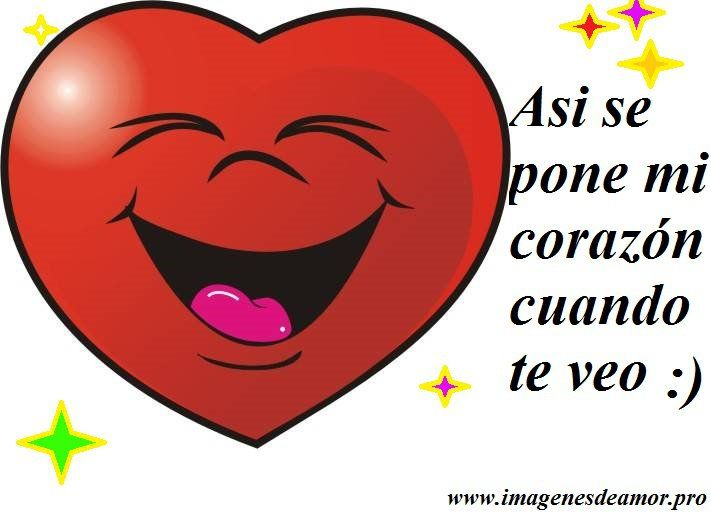 Corazones Con Brillos Imagenes De Amor Frases Romanticas Para