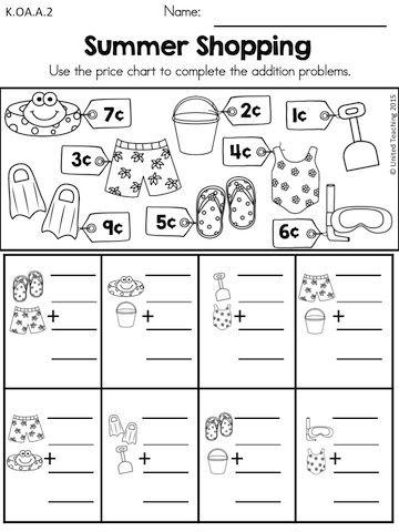 Summer Math Packet (Distance Learning) | 2nd grade math ...
